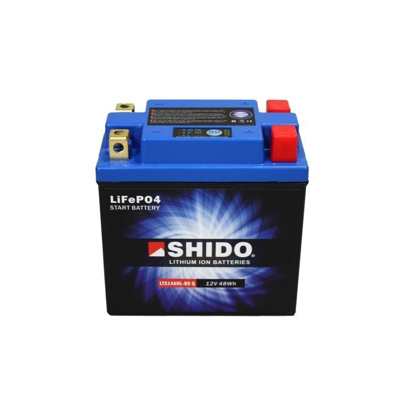 Batterie Lithium Ion SHIDO LTX14AHL-BS Q Lithium Ion 4 Bornes