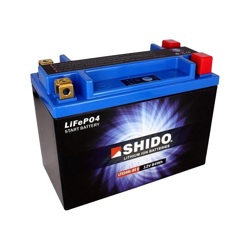 Batterie Lithium Ion SHIDO LTX24HL-BS Q Lithium Ion 4 Bornes