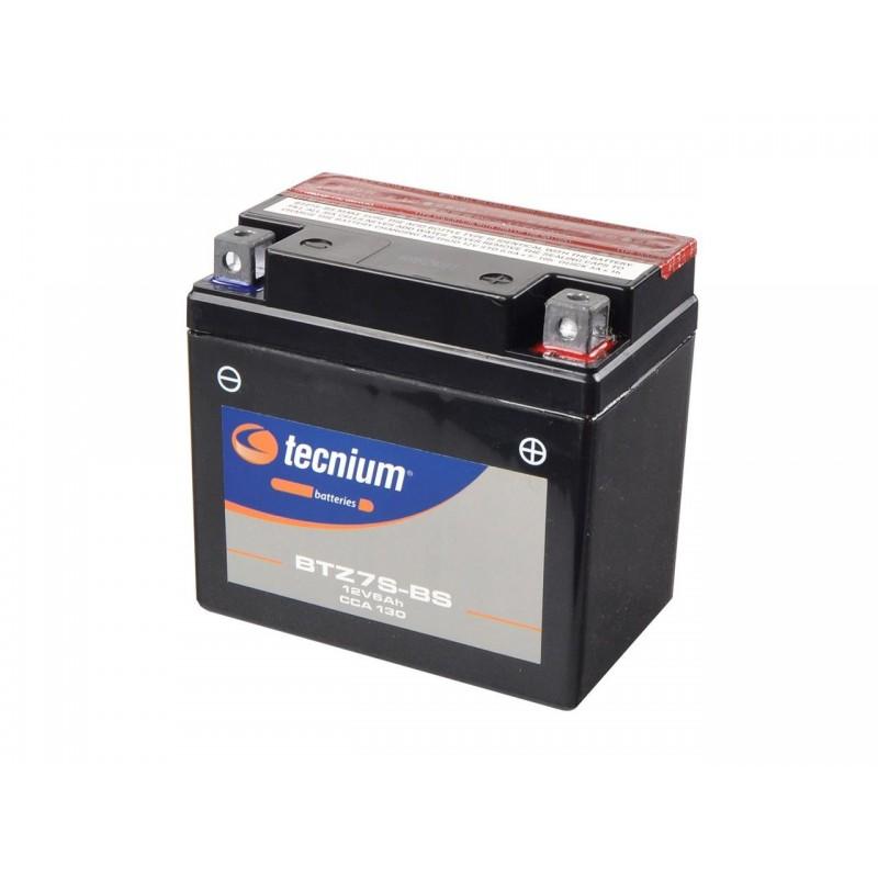 Batterie TECNIUM pour moto BTZ7S-BS