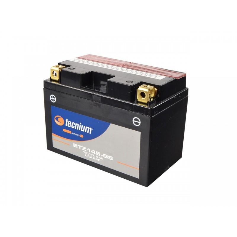 Batterie TECNIUM pour moto BTZ14S-BS