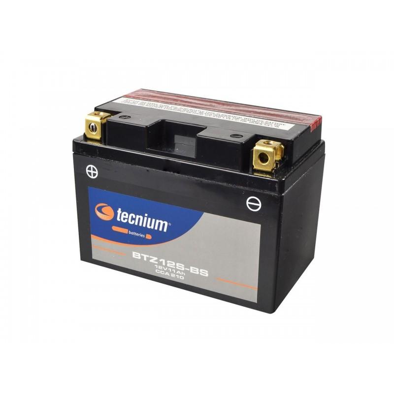 Batterie TECNIUM pour moto BTZ12S-BS