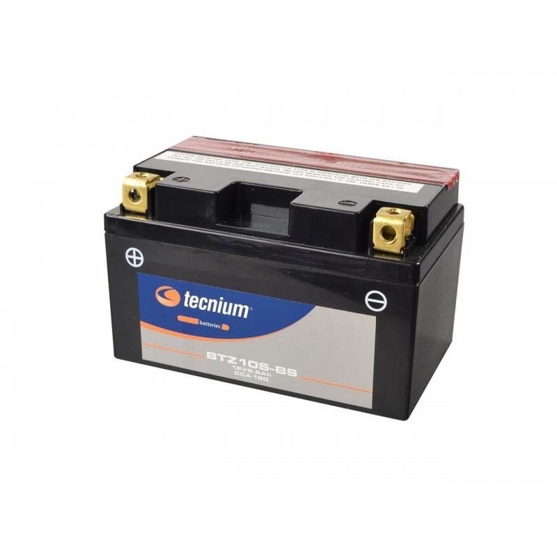 Batterie TECNIUM pour moto BTZ10S-BS