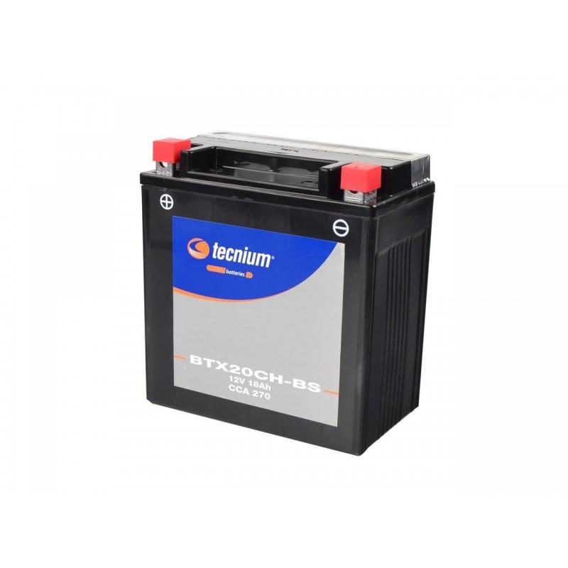 Batterie TECNIUM pour moto BTX20CH-BS