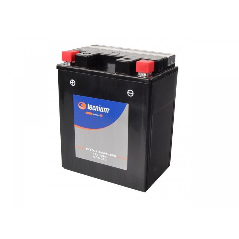 Batterie TECNIUM pour moto BTX14AH-BS