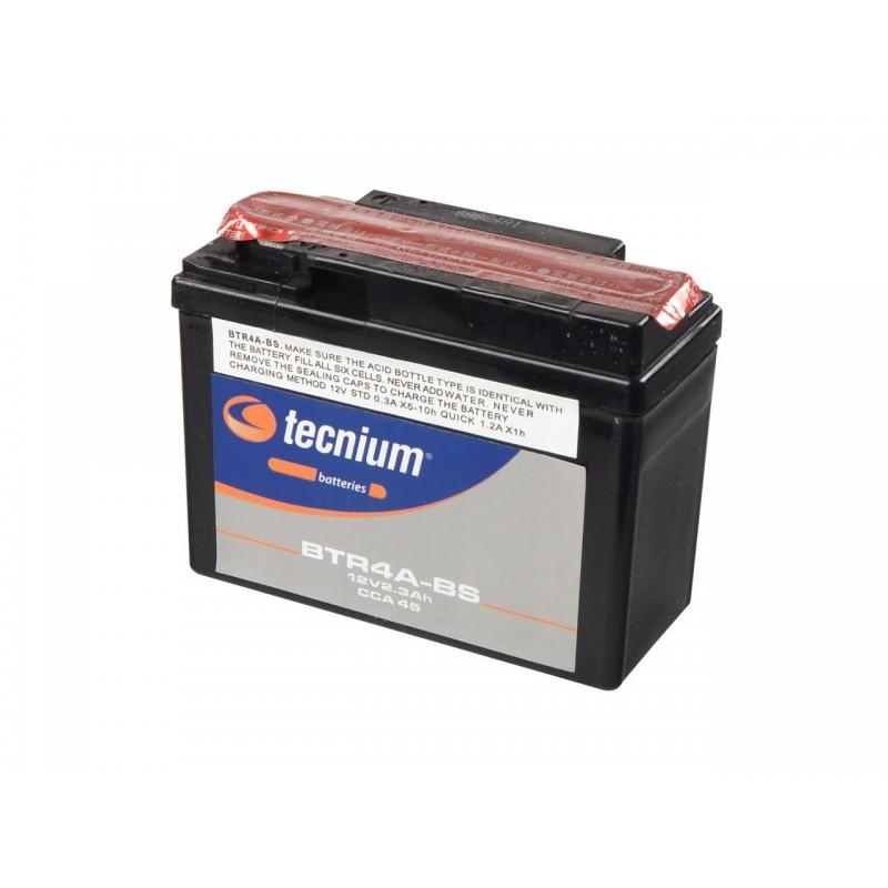 Batterie TECNIUM pour moto BTR4A-BS