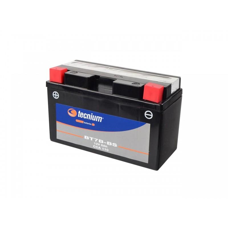 Batterie TECNIUM pour moto BT7B-BS