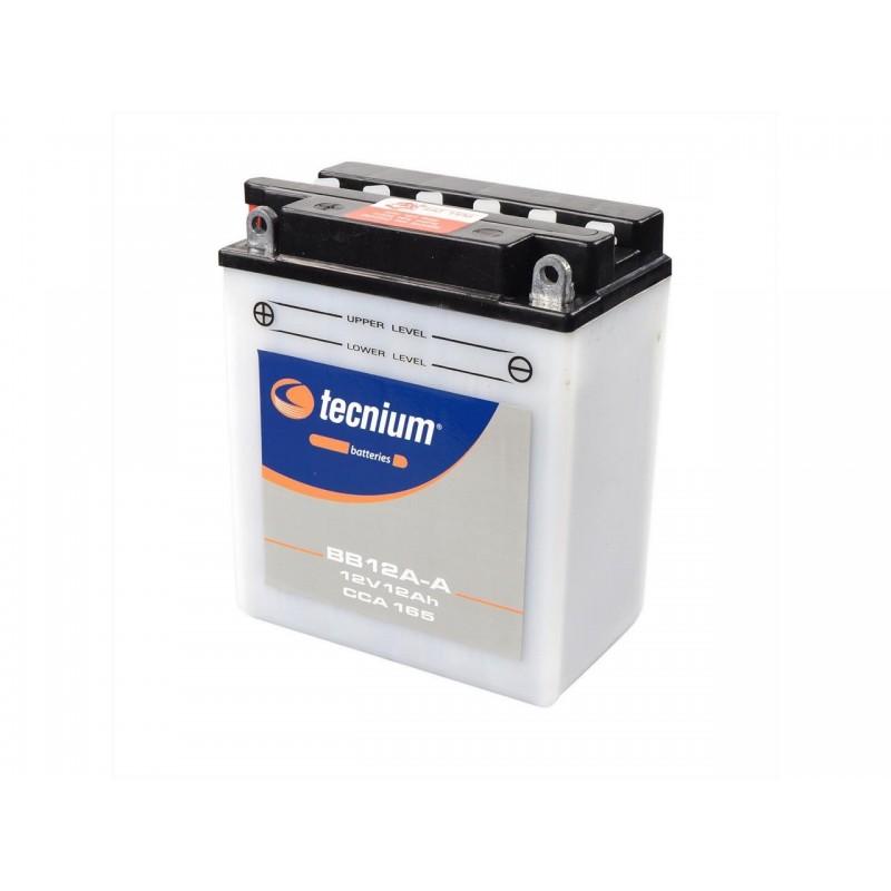 Batterie TECNIUM pour moto BB12A-A