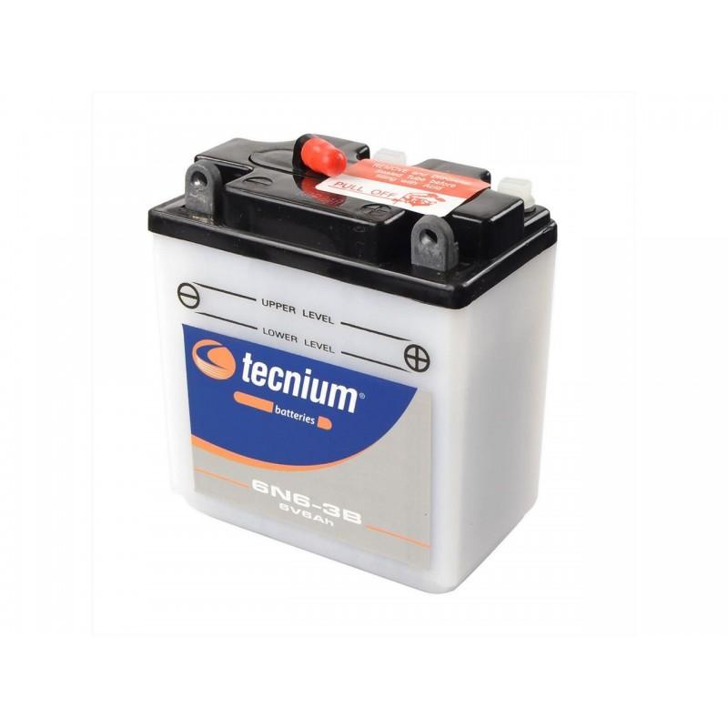 Batterie TECNIUM pour moto 6N6-3B