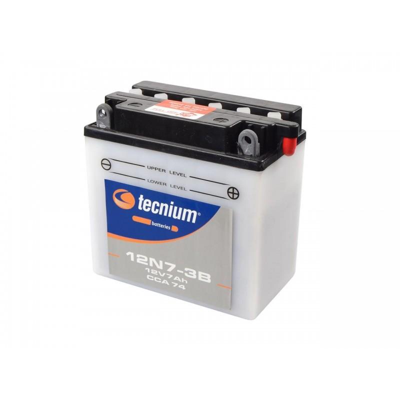 Batterie TECNIUM pour moto 12N7-3B