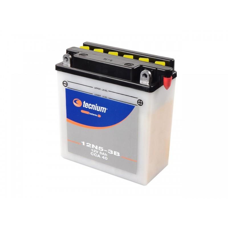 Batterie TECNIUM pour moto 12N5-3B
