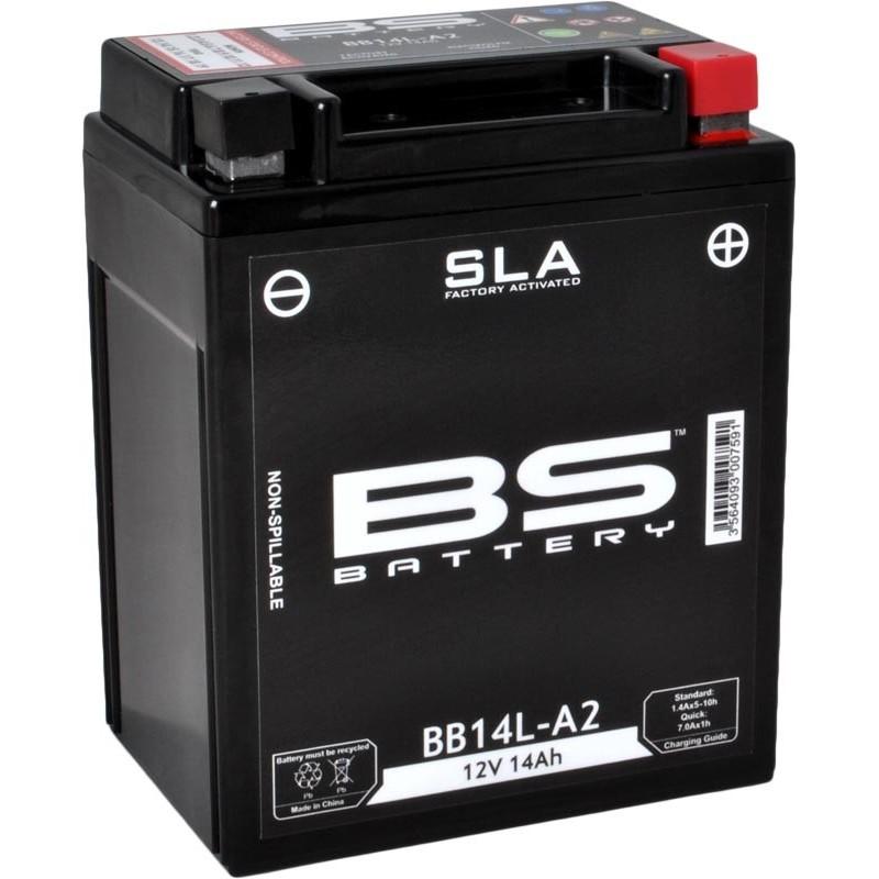 Batterie de moto BS BB14L-A2 SLA