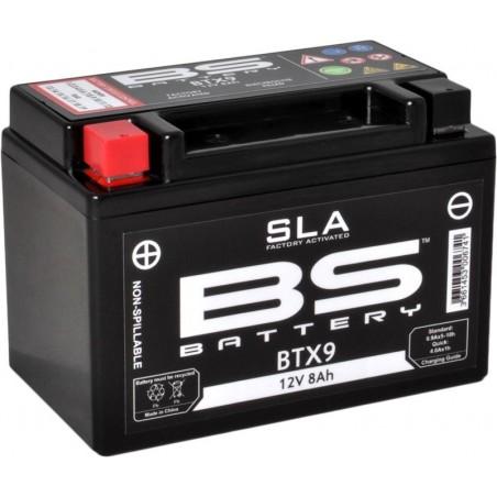 Batterie de moto BS BTX9 SLA