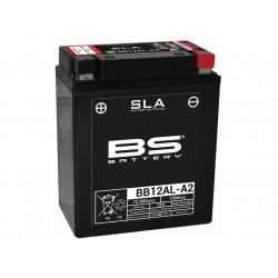 BATTERIE DE MOTO BS BB12AL-A2 SLA activé d'usine