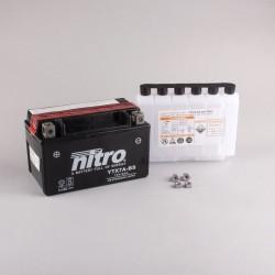 NITRO YTX7A-BS AGM ouvert avec pack acide