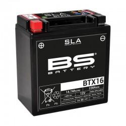 Batterie BS BATTERY BTX16-BS / YTX16-BS GEL