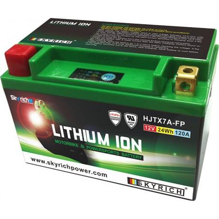 Batterie Lithium Ion SKYRICH pour moto HJTX7A-BS