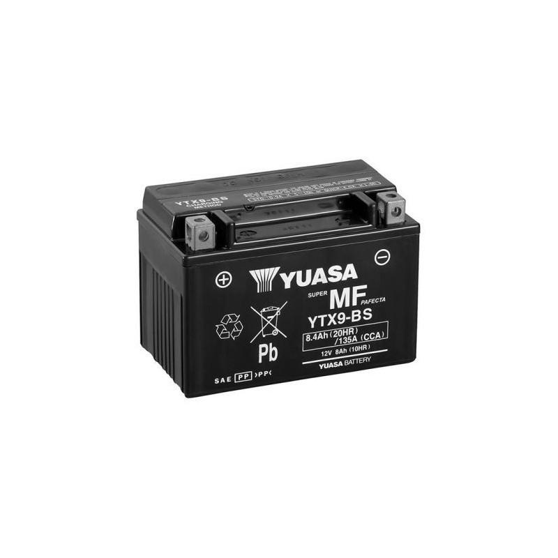 ytx9-bs YUASA AGM Prête à l'emploi