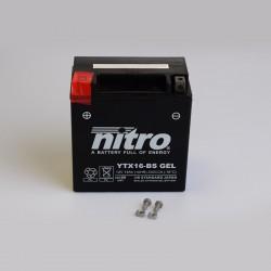 Batterie NITRO YTX16-BS GEL