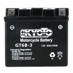 Batterie Moto YT6B-3 Kyoto