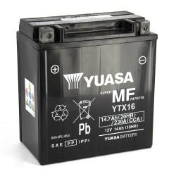 YTX16-BS Yuasa AGM Prête à l'emploi