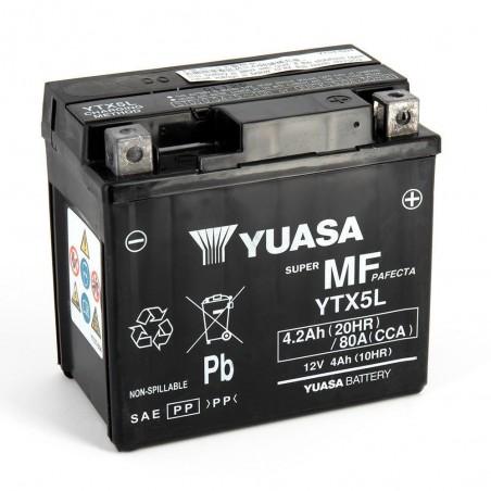YTX5L-BS YUASA AGM Prête à l'emploi