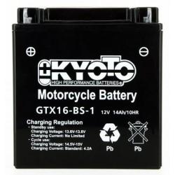 Batterie Moto YTX16-BS-1 / GTX16-BS-1 KYOTO