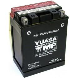 Batterie YUASA pour moto YTX14AH-BS