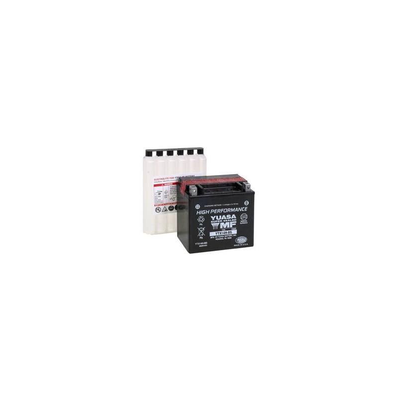 Batterie YUASA pour moto YTX14H-BS