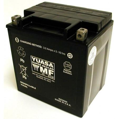 Batterie pour moto YIX30L AGM YUASA avec pack acide