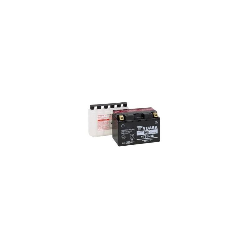 Batterie YUASA pour moto YT9B-BS