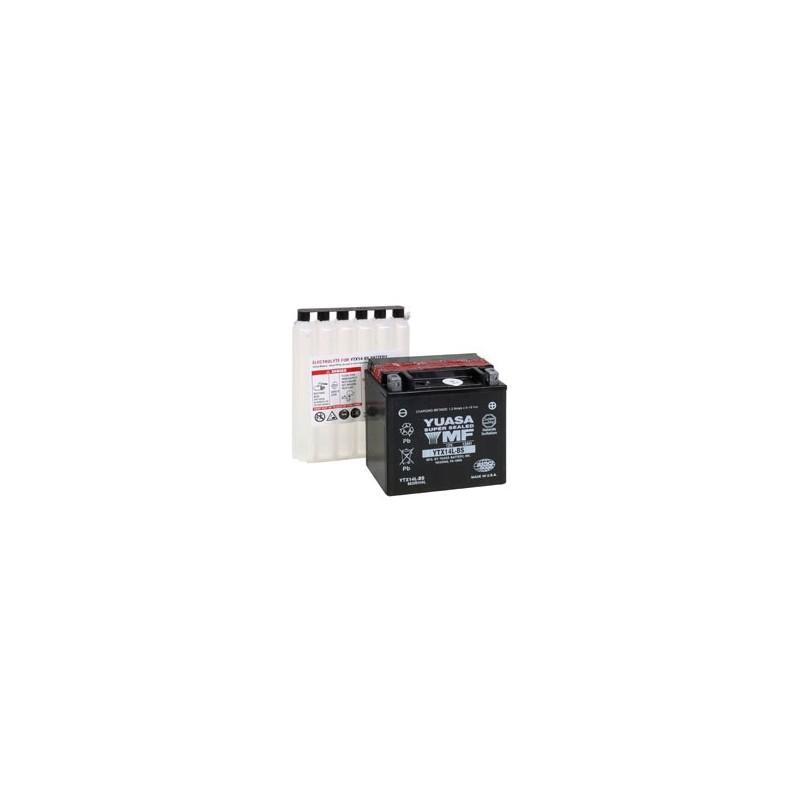 Batterie YUASA pour moto YTX14L-BS