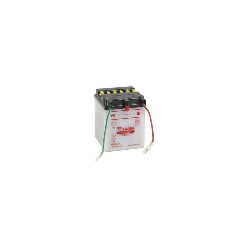 Batterie YUASA pour moto YB2.5L-C