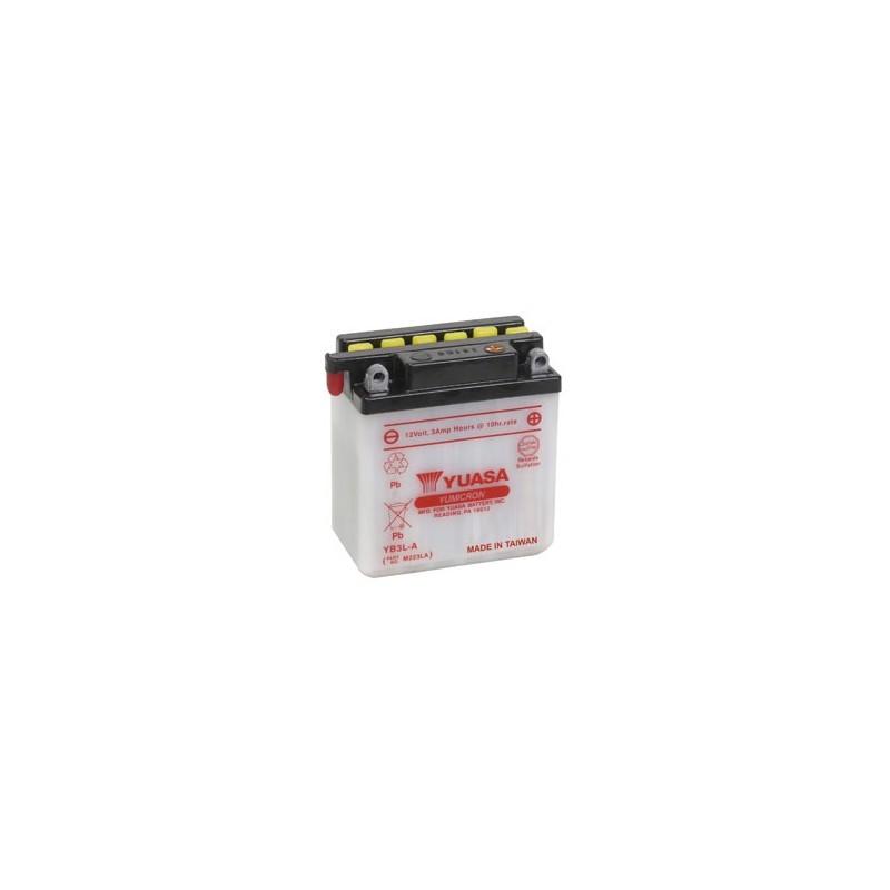 Batterie YUASA pour moto YB3L-A