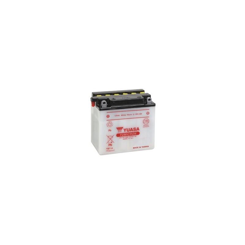 Batterie YUASA pour moto YB7-A