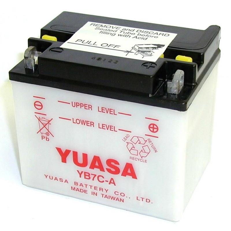 Batterie YUASA pour moto YB7C-A