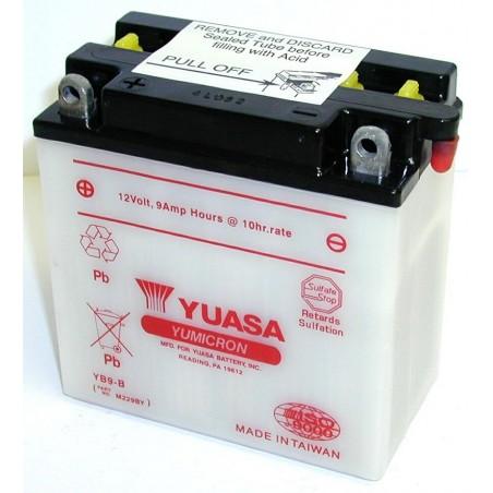 Batterie YUASA pour moto YB9-B