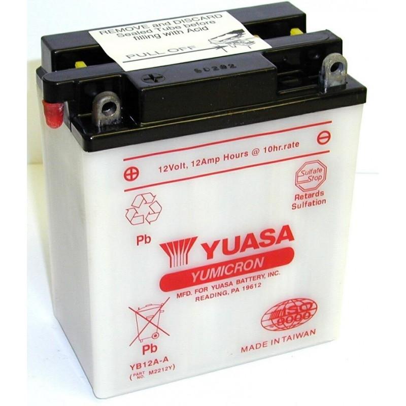 Batterie YUASA pour moto YB12A-A