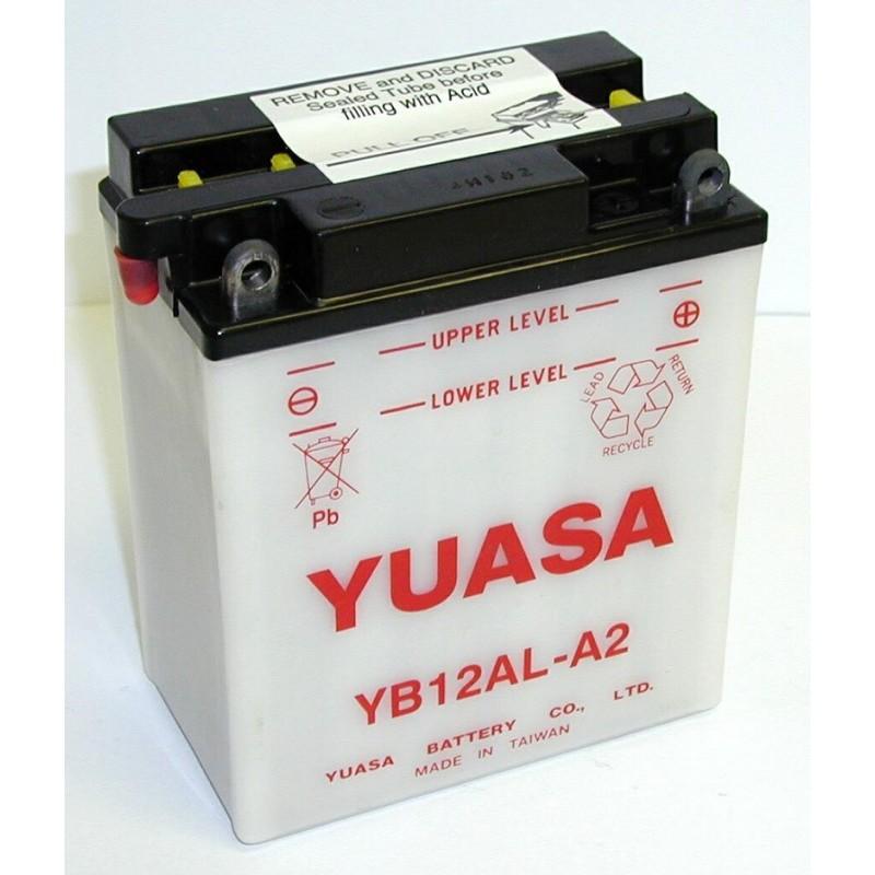 Batterie YUASA pour moto YB12AL-A2