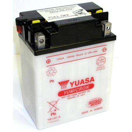 Batterie YUASA pour moto YB12C-A