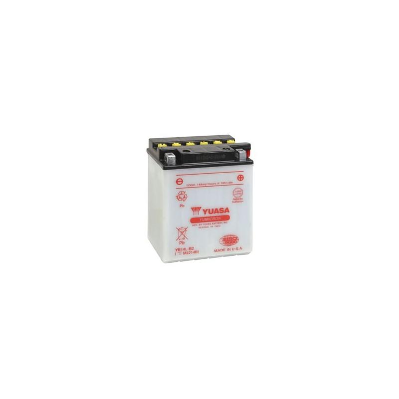 Batterie YUASA pour moto YB14L-B2