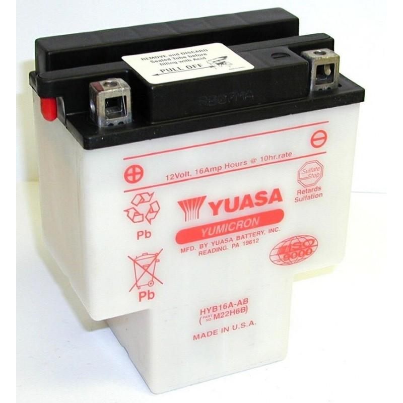 Batterie YUASA pour moto HYB16A-AB