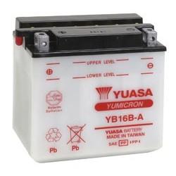 Batterie YUASA pour moto YB16B-A