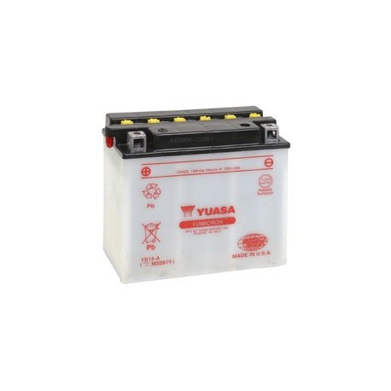 Batterie YUASA pour moto YB18-A