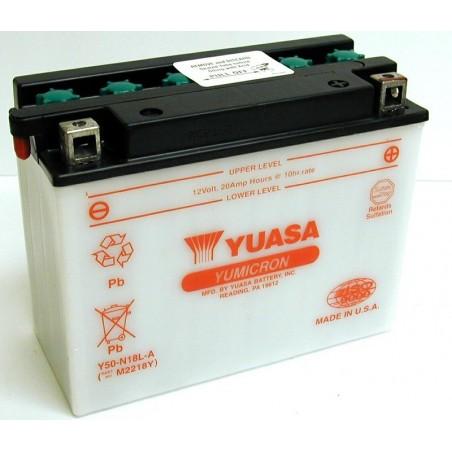 Batterie YUASA pour moto Y50-N18L-A