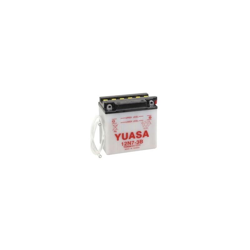 Batterie YUASA pour moto 12N7-3B