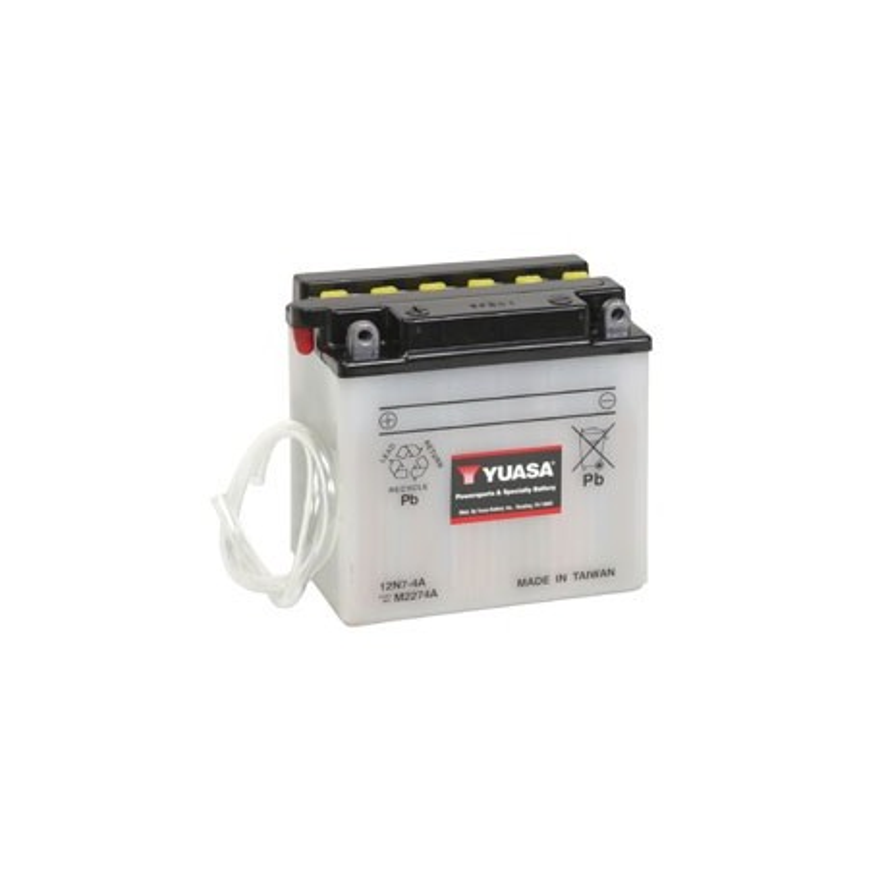 Batterie YUASA pour moto 12N7-4A
