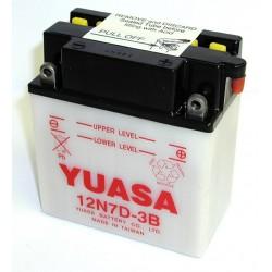 Batterie YUASA pour moto 12N7D-3B