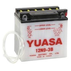 Batterie YUASA pour moto 12N9-3B