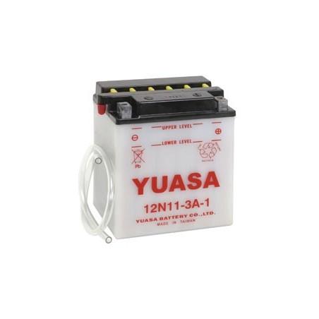 Batterie YUASA pour moto 12N11-3A-1