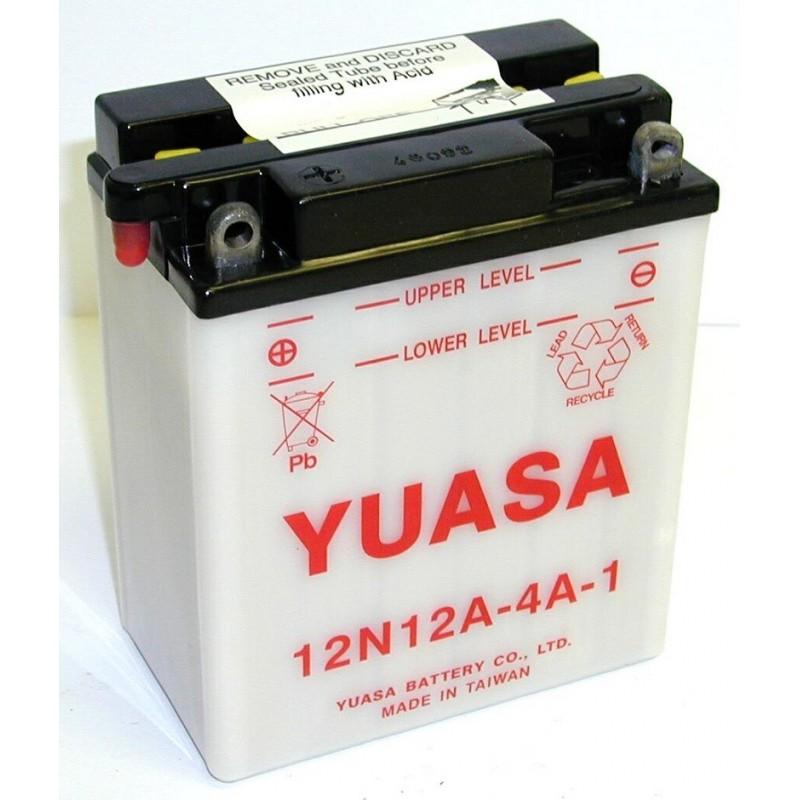 Batterie YUASA pour moto 12N12A-4A-1